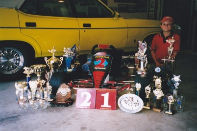 2006: Todd's trophies from the year
