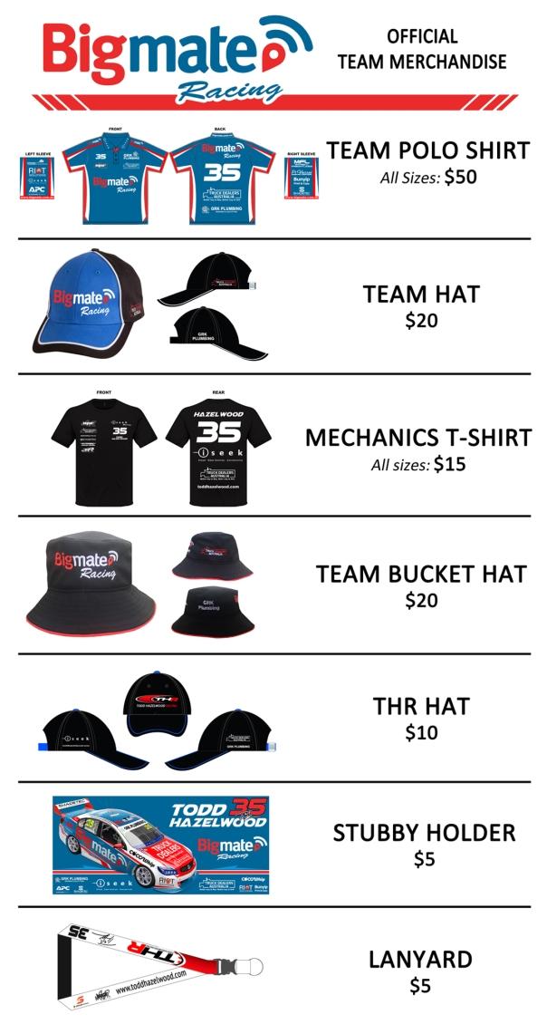 Merchandise 2017 Sign